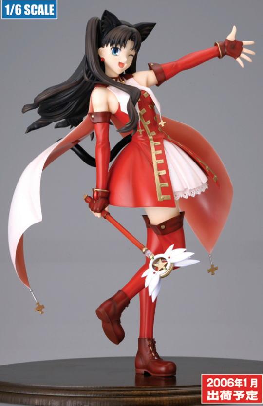 Fate/hollow ataraxia 魔法少女 凛 完成品フィギュア グッドスマイル版(予約)